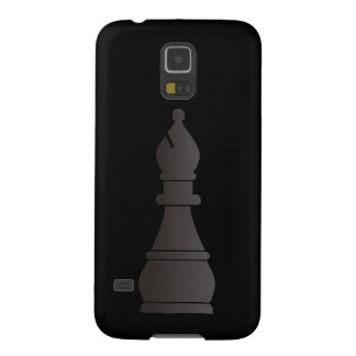 Parte de xadrez preta do bishop capa para galaxy s5