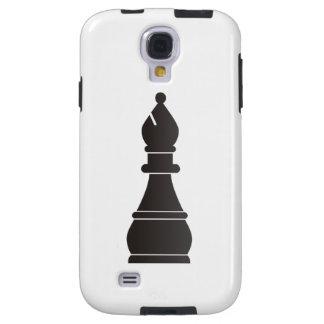 Parte de xadrez preta do bishop capa para galaxy s4