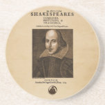 Parte dianteira ao primeiro fólio de Shakespeare Porta Copos