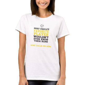 Parte dianteira de camisa favorita da luz do camiseta
