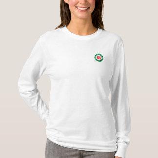 Parte dianteira de WSCO & camisa impressa parte