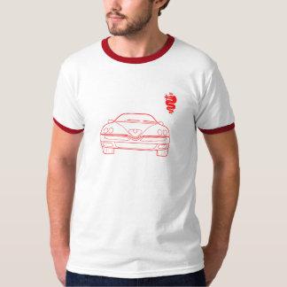 Parte dianteira do esboço da aranha de Alfa Romeo Camiseta
