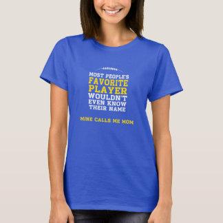 Parte dianteira escura favorita da camisa Y do Camiseta