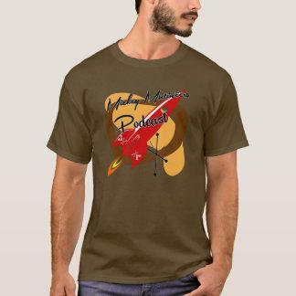 Parte dianteira vermelha de Rocket Camiseta