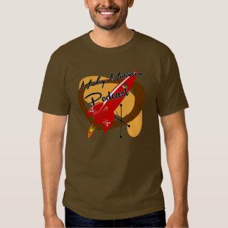 Parte dianteira vermelha de Rocket T-shirt