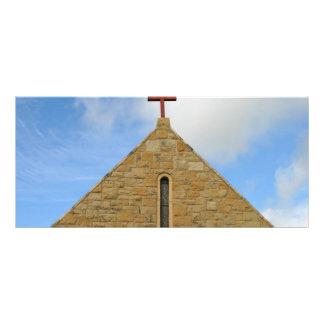 Parte superior da igreja panfletos informativos