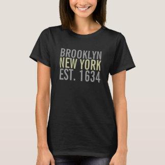 Parte superior das senhoras de Brooklyn New York Camiseta