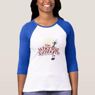 Parte superior de roda das senhoras do congresso camiseta