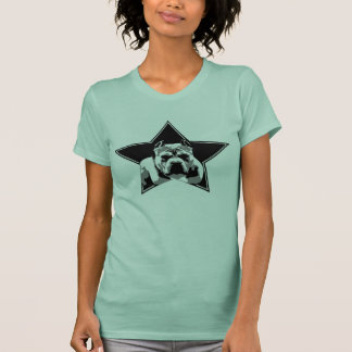 Parte superior do pitbull dos lutadores do amante camisetas