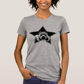 Parte superior do pitbull dos lutadores do amante t-shirts