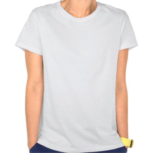 Parte superior dos espaguetes das senhoras de camiseta