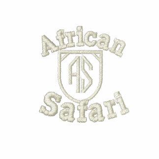 Parte superior elegante do safari das senhoras
