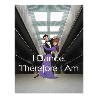 PARTE SUPERIOR eu danço-me conseqüentemente sou Panfletos