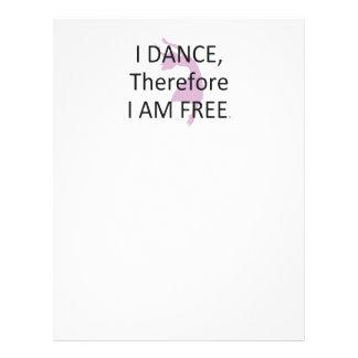 PARTE SUPERIOR eu danço-me conseqüentemente sou Panfleto