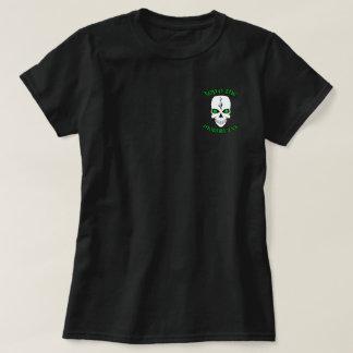 Parte superior irlandesa O do crânio o Mornin a Ya Camiseta