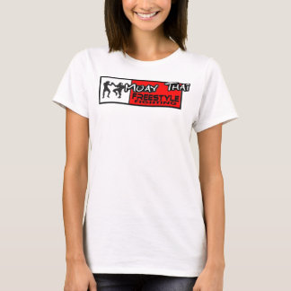 Parte superior tailandesa dos espaguetes do estilo camiseta