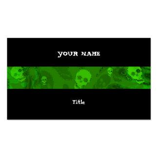 Parte traseira horizontal do preto da listra dos cartão de visita