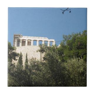 Partenon do grego clássico de longe