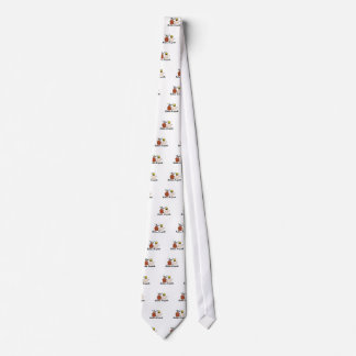 Partes inferiores do urso gravata