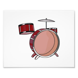 partes simples red png do drumset três fotografias