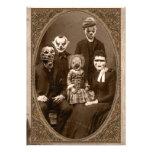 Partido assustador do Dia das Bruxas da família do
