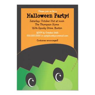 Partido bonito assustador do Dia das Bruxas da Convites Personalizados