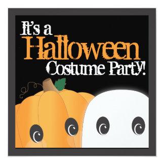 Partido bonito assustador do traje do Dia das Convite Personalizado
