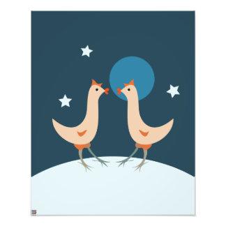 Partido da noite das galinhas fotos