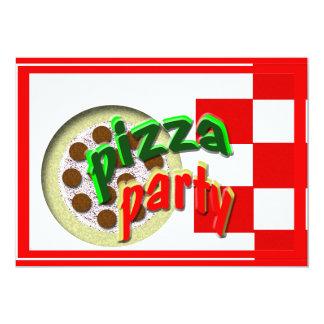 Partido da pizza!!!! convite personalizados