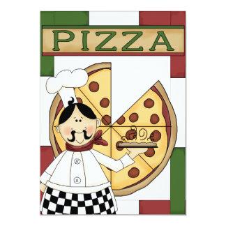 Partido da pizza convite