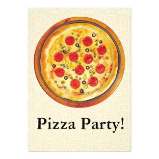 Partido da pizza convites