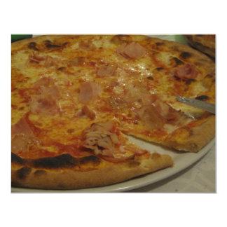 PARTIDO DA PIZZA CONVITE 10.79 X 13.97CM