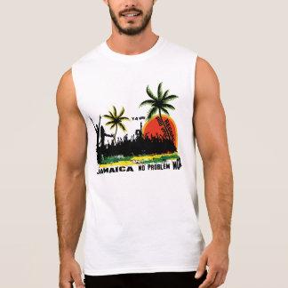 Partido da praia de Jamaica Camisetas Sem Manga