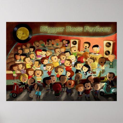 Partido da reggae do chefe mais grande posteres