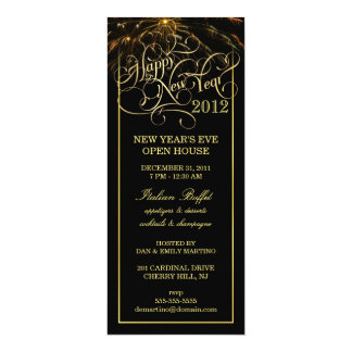 Partido da véspera de Ano Novo - convites formais