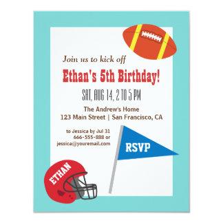 Partido de aniversário de criança colorido do convites personalizados