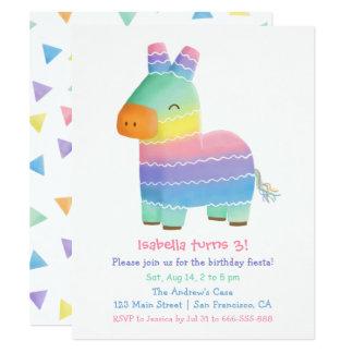 Partido de aniversário de criança mexicano da convite 10.79 x 13.97cm