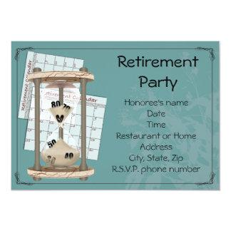 Partido de aposentadoria convites personalizado