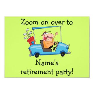 Partido de aposentadoria personalizado Inviation, Convite 11.30 X 15.87cm