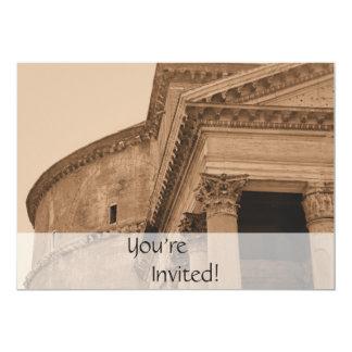 Partido de comensal italiano personalizado do convite 12.7 x 17.78cm