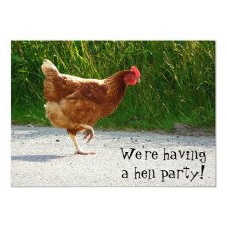 Partido de galinha! Convide para a celebração do Convite Personalizado