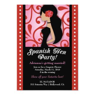 Partido de galinha de 311 espanhóis convites