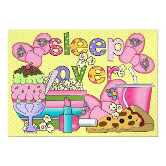 Partido de pijama/sono sobre - SRF Convite 12.7 X 17.78cm
