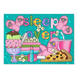 Partido de pijama/sono sobre - SRF Convite Personalizado