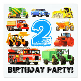 Partido de segundo aniversário grande dos convites personalizados
