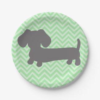 Partido do cão do Wiener do Dachshund