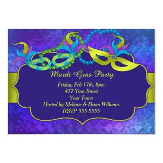 Partido do carnaval convites personalizados