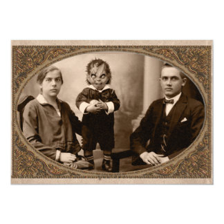 Partido do Dia das Bruxas da família do Spawn do Convite 12.7 X 17.78cm