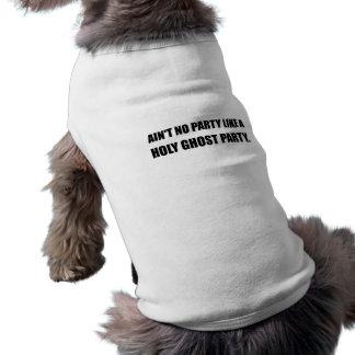 Partido do espírito santo camisa sem mangas para cachorro