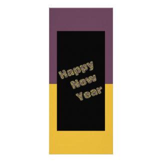 Partido do feliz ano novo convites personalizado